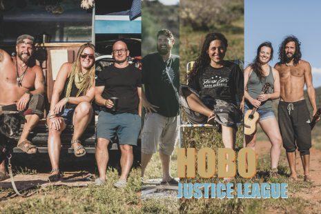 Hobo Justice League Portrait